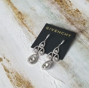 Crystal Chandelier Drop Earrings  GIVENCHY